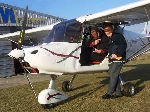 Marius à bord et Laurent l'instructeur Stagiaire qui s'en ai bien occupé - 103.8ko