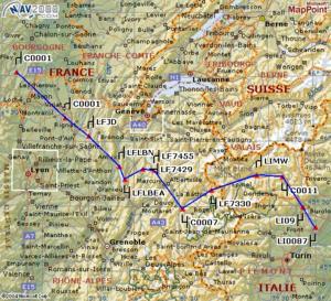 Route des Alpes nord - 131.8ko