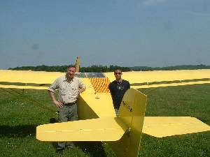 Didier et Joris avec l'Avid 582 - 322.4ko
